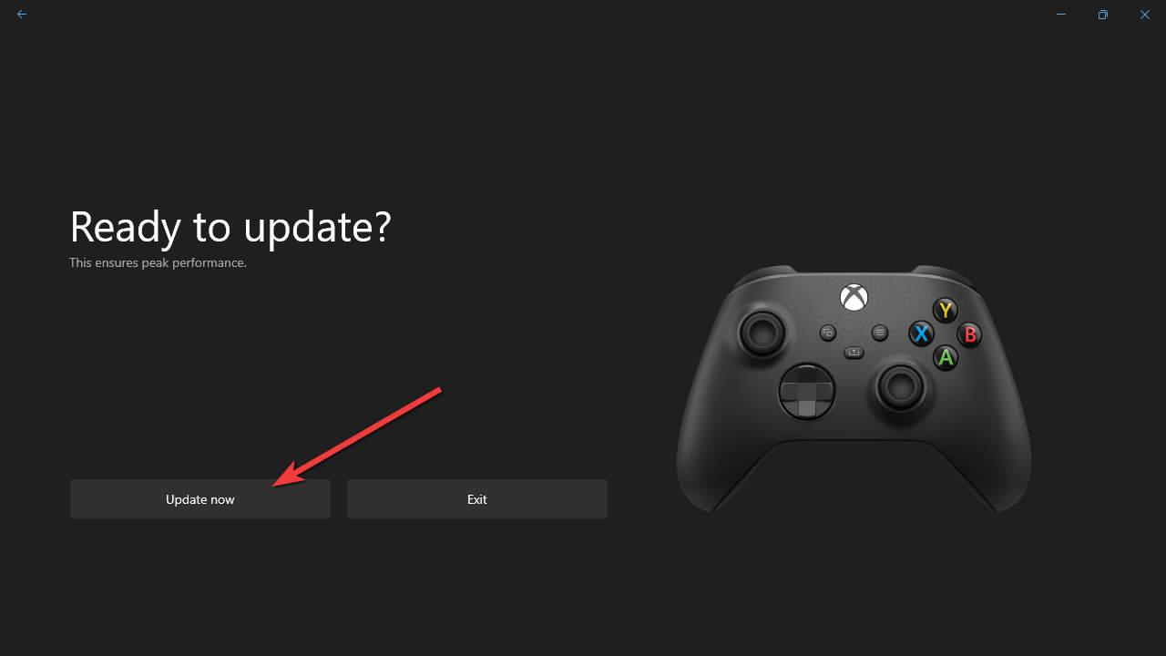 Xbox Accessories - Update Now