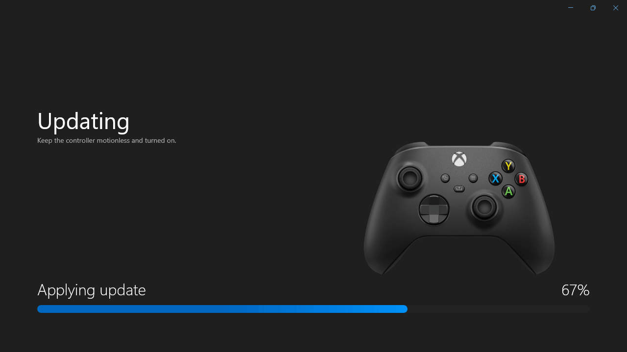 Xbox Accessories - Updating Firmware