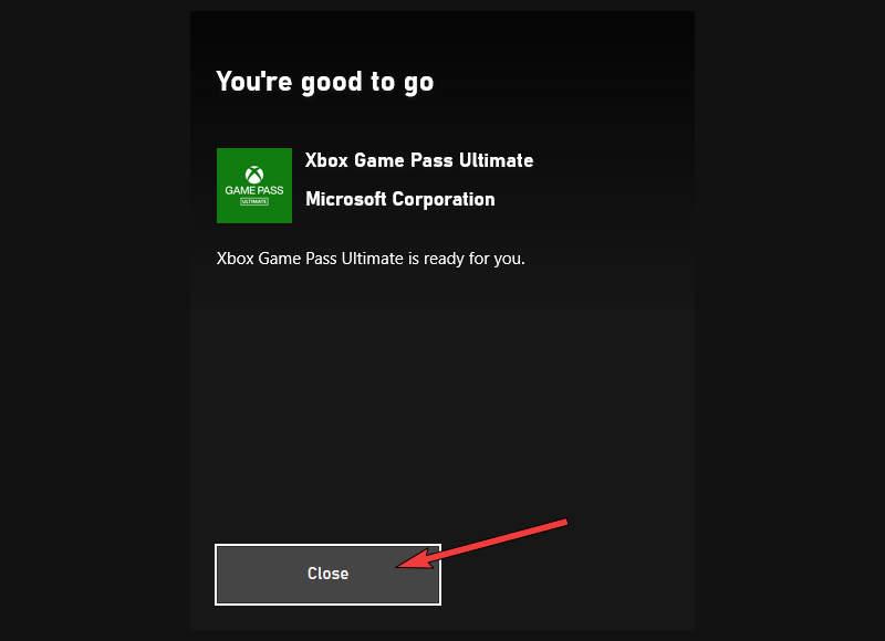 Xbox App - Redeem Complete